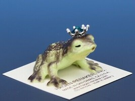 Birthstone Frog Prince Kissing May Emerald Miniatures by Hagen-Renaker image 2