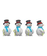 3D Snowman-Digital Clipart-Christmas-Card-Tag - $4.00