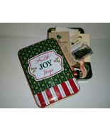 EXCLUSIVE Christmas Holiday Tin Grab Bags assorted cross stitch bundles  - $22.00