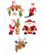 Santa Claus-Digital Clipart-Christmas-Card-Tag - $4.00