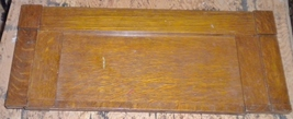White S.M. Co. Treadle Cabinet Plain Drop Down Knee Hole Cover - $10.00