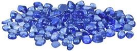 Crystal FireGlass Brillant Blue Reflection Sparkle FirePit Fireplace Hom... - $75.25