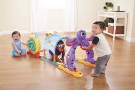 Pre School Adventure Course Play Station Crawl Peeka Boo Door Rotating W... - $134.22