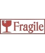 Fragile sticker label 5160 size thumbtall