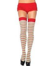 Women's MIni Pride Colorful Rainbow Socks Striped Over Knee Thigh High S... - $118,83 MXN