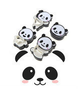 4x Panda Cookie Cutters Bear Cookie Cutters Biscuit Mold Fondant Cake To... - €3,18 EUR