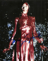 SISSY SPACEK SIGNED CARRIE CLASSIC ALL BLOODY PROMO 8X10 PHOTO AUTOGRAPH... - $29.95