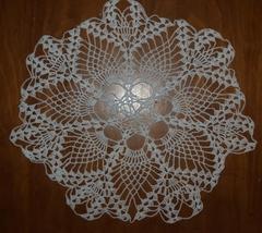 Beautiful Crochet Lace Doily - $13.50
