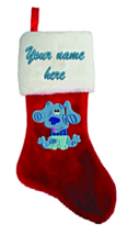Personalized BLUE Christmas Stocking! - $37.99