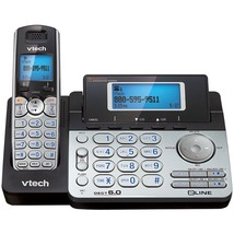 Vtech Dect 6.0 Cordless 2-line Phone System With Digital Answering Syste... - $88.90