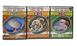 Childrens DVD Encyclopedia Tell Me Why Lot of 3 Birds Space Electricity New - $21.51