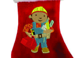PERSONALIED BOB THE BUILDER CHRISTMAS STOCKING - $37.99