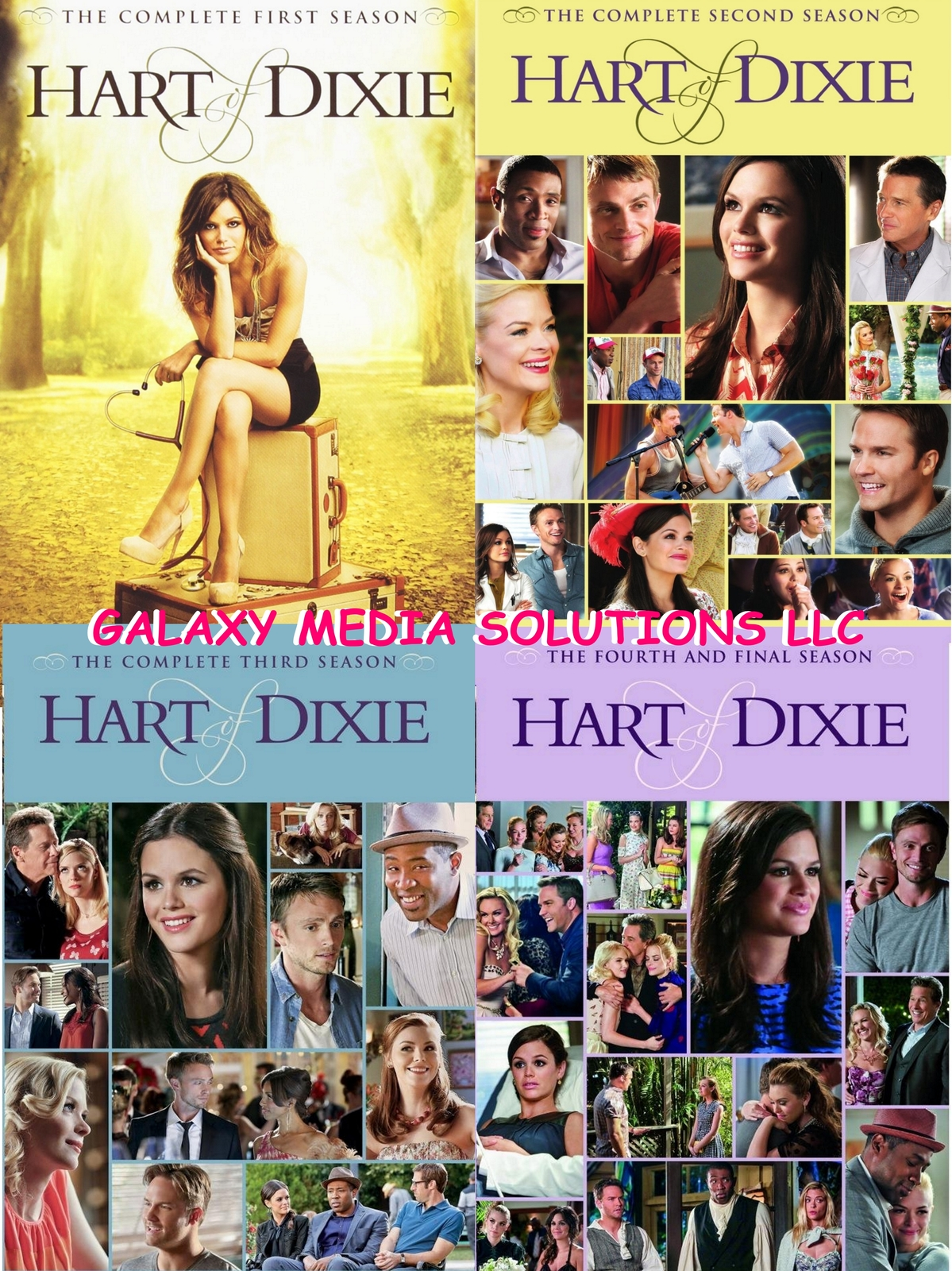 Hart of dixie first   fourth   last season 1 4 one four dvd bundle  2012 2015 15 disc 5