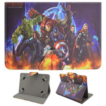 "The Avengers Super Hero Leather Case For 7"" Insignia NS-15AT07 Android T... - $12.99"