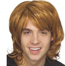 Wig - Adult - 70's Shag - Blonde - Mens Dirty Long Hair 60's Costume Acc... - $8.69