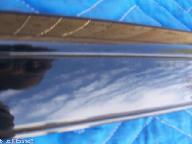 1999 ELDORADO RIGHT QUARTER FENDER BLACK TRIM MOLDING OEM ORIGINAL GM PART 97 98