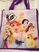 Disney Princess Reusable Tote Shopper Gift Bag— Snow White Ariel Cinder... - $6.25