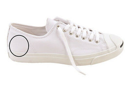 Converse Unisex Jack Purcell 1S961 Trainers New White Size UK 7 - $63.82