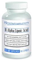 R-Alpha Lipoic Acid 300MG of Pure R-LIPOIC Acid 90 Count. MAX Strength