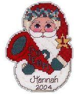 Charlette's Collectibles Cheerleader Santa ornament kit - $3.00