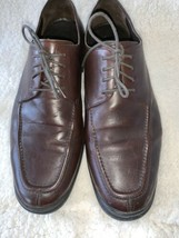Cole Haan Men's SZ 11.5M Brown Leather Round Toe Lace Up Oxfords - $39.57
