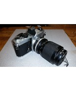 Vintage Nikon ZOOM-NIKKOR 35~105mm 1:3.5~4.5 on FM body chrome - $79.19