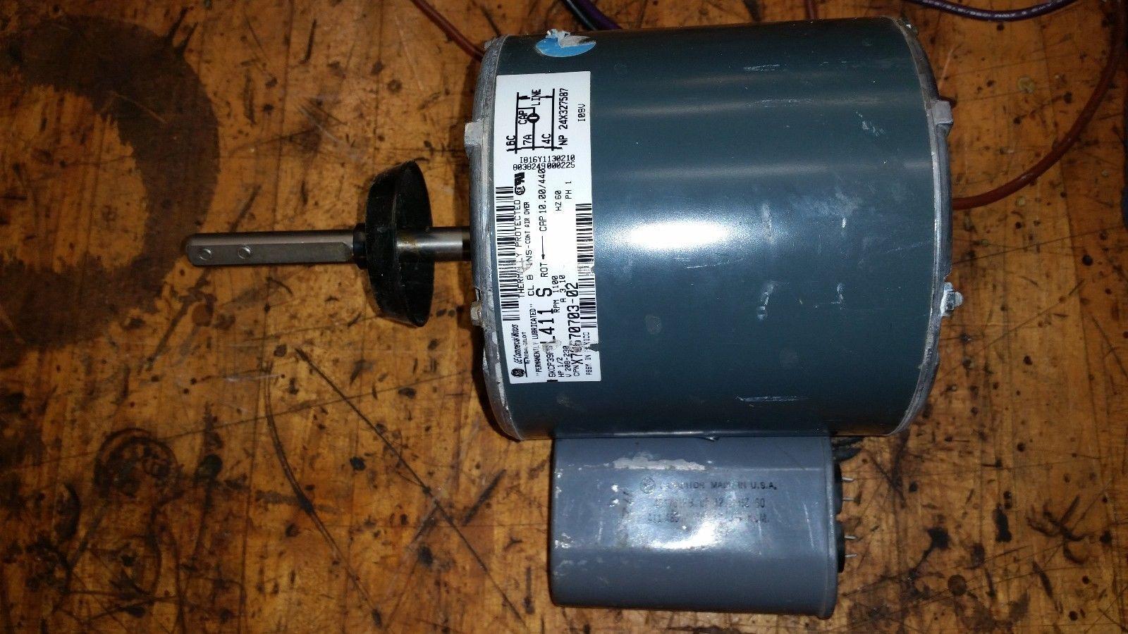 Ge motors goodman 5kcp39pg furnace blower motor 1 2 hp for 1 2 hp furnace blower motor