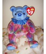 Ty Beanie Babies September Birthday Bear Tye-Dye - $6.39