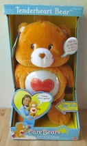 NEW 2002 Care Bears Tenderheart Orange Talking ... - $99.95