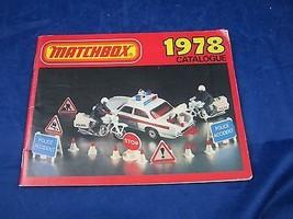 vintage 1978 Matchbox Catalogue Lesney Products Catalog diecast die-cast... - $9.49