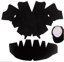 3Pk BLACK-LARGE Baseball Cap Crown Insert & Panel Shape Combo| Flexfit H... - $20.64