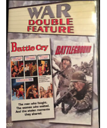 War Double Feature DVD BATTLE CRY & BATTLEGROUND - $7.99
