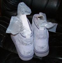UGG Australia Womens Classic Mini Lilac Purple Sheepskin Boots US 7 UK 5.5 EU 38 image 2