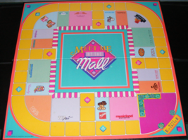 1990 Meet Me At The Mall Game Board - $15.00