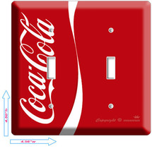 NEW VERTIC RED COCA-COLA CLASSIC DOUBLE LIGHT S... - $10.79