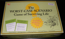 2006 The Worst Case Scenario Game of Surviving Life University Games - $35.00