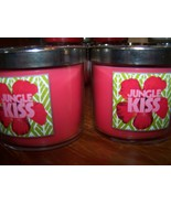 Lot of 2 Bath & Body Works Slatkin & Co Jungle Kiss Scented Candle 4 oz ... - $17.25