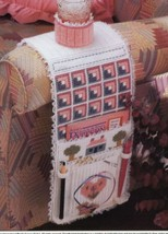 Needlework Nook Chair Caddy Plastic Canvas PATTERN/INSTRUCTIONS NEW - $0.90