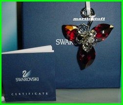 Swarovski *Winter Berries Plus Santa  Claus Ornaments* BNIB COA Both Ret... - $89.95