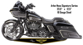 Arlen Ness Motorcycle Cut Out Reproduction Metal Sign 12.5x23.5 - $26.73