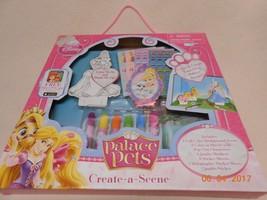 New Disney Princess Palace pets lot create your own scene & app w/ chara... - $15.35