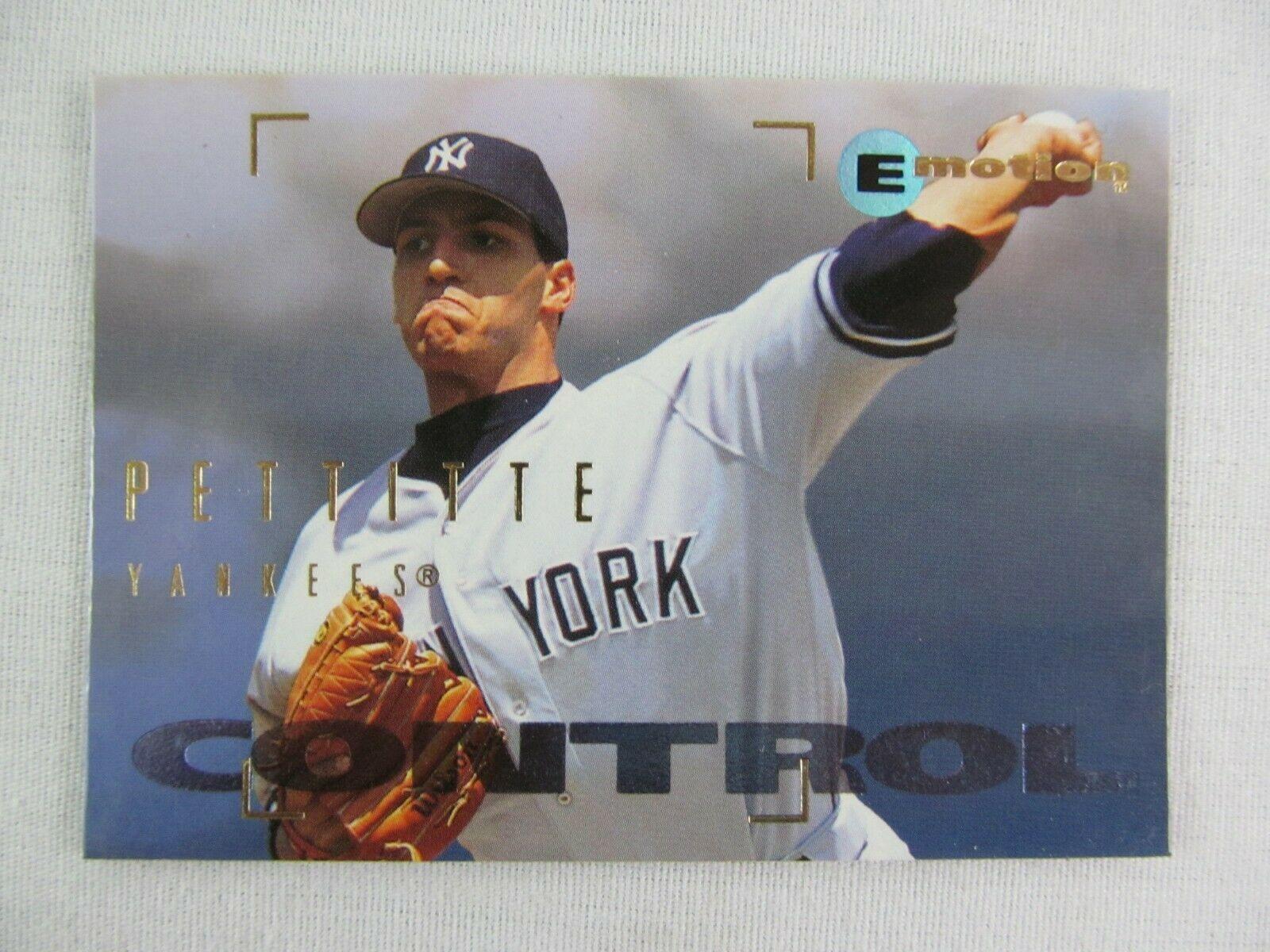 Andy Pettitte New York Yankees 1995 Fleer Baseball Card 65