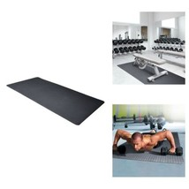 Exercise Floor Mat Antimicrobial EVA Foam Gym Pad Workout Home Fitness F... - $33.65
