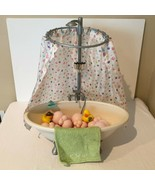 American Girl Doll Bubble Bathtub and Shower Set Fresh and Clean Bubbles... - $79.99
