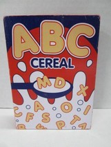Melissa & Doug Pantry Products ABC Cereal wood replacement part toy - $4.90