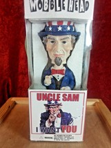 "Uncle Sam ""I WANT YOU"" Wobblehead Bobblehead Doll, 2001 - $14.95"