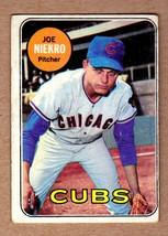 1969 Topps #43 Joe Niekro Chicago Cubs no creases EX condition - $4.95