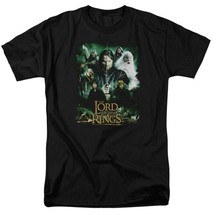 The Lord of the Rings Epic Trilogy Aragorn, Gandalf, Frodo graphic tee LOR1043 image 1