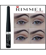 Rimmel GLAM'Eyes  PROFESSIONAL LIQUID EYELINER 001 BLACK   3.5ml - $9.88