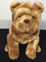 Ty Beanie Buddies Bull Dog Wrinkles Plush Buddy Puppy 2004 Stuffed Anima... - $20.05
